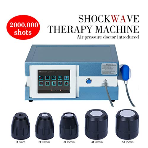 Lowest Price! ZZYYZZ Shockwave Therapy Machine, Extracorporeal ED Shock Wave Machine Portable with 5...