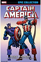 Captain America Epic Collection: Society of Serpents (Captain America (1968-1996)) Kindle Edition