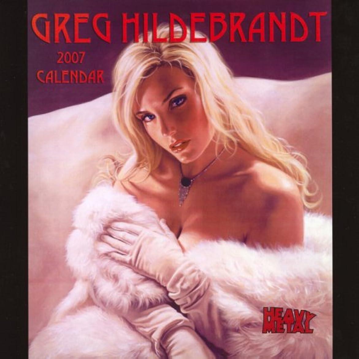 ケニアスロー海里Greg Hildebrandt 2007 Calendar