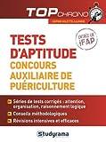 Tests d'aptitude concours auxiliaire de puériculture