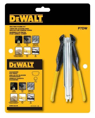 DEWALT Hog Ring Pliers Kit