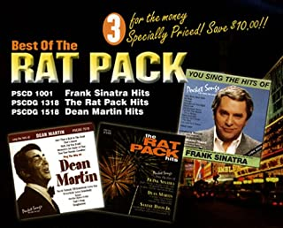 Sing The Best Of The Rat Pack Frank Sinatra, Dean Martin, Sammy Davis Jr. CDG