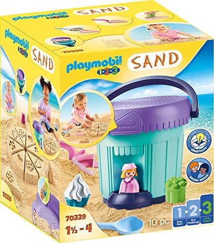 "PLAYMOBIL-1.2.3 Sand 70339 Kreativset ""Sandbäckerei"", Ab 1,5 bis 4 Jahre"