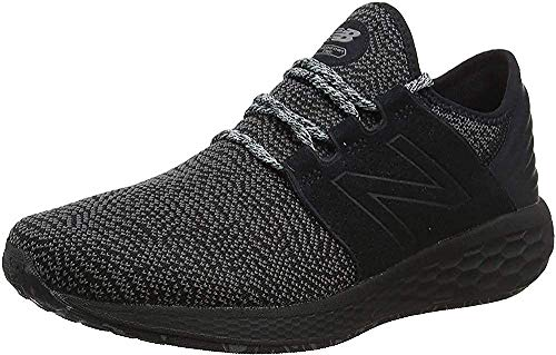 New Balance Fresh Foam Cruz v2 Silent Rave Pack, Zapatillas Hombre, Negro (Black/Raincloud/Deep Ozone Blue Dk2), 44 EU