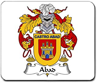 Abad Family Crest Coat of Arms Mouse Pad