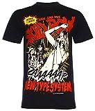 Photo de PALLAS Unisex's Sebastian Bach The Skid Row T-Shirt (Black,M) par