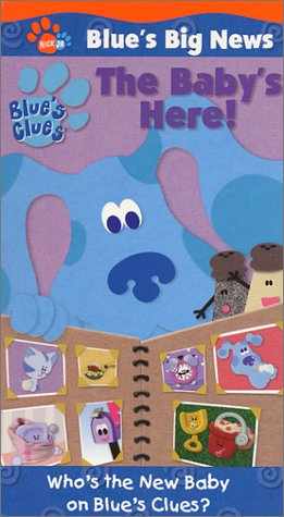 Blue's Clues - Blue's Big News - The Baby's Here! [VHS]