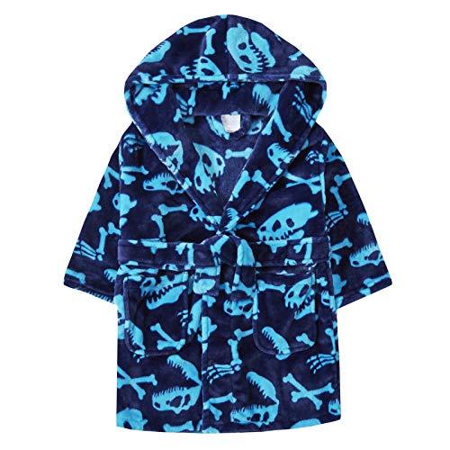 Lora Dora jongens dinosaurus botten gewaad capuchon fleece dressing jurk kinderen nieuwigheid badjas cadeau