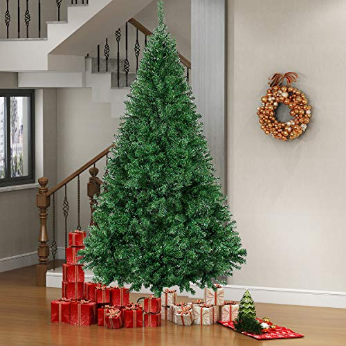 vantiorango Premium Artificial Christmas Tree 6FT Xmas Trees, Lush Holiday Trees with Metal Stand, for Indoor Decoration