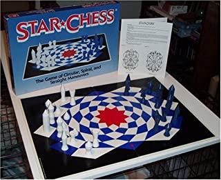Star Chess; the Game of Circular, Spiral, and Straight Maneuvers