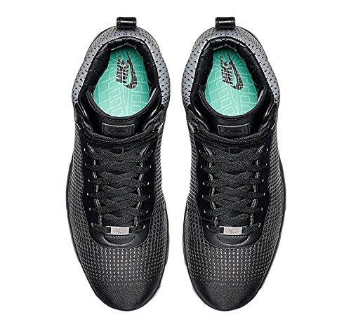Nike KD Kevin Durant VIII NSW Lifestyle Basketball Shoes Metallic Silver Black Mens Size 8