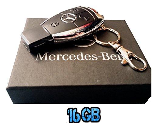 Sport auto 16 GB telecomando chiave USB Flash Drive/pen drive/Udisk. Venduto in confezione regalo