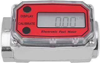 Flow Meter,Mini Digital Turbine Flowmeter Diesel Fuel Flow Meter 15-120L 1