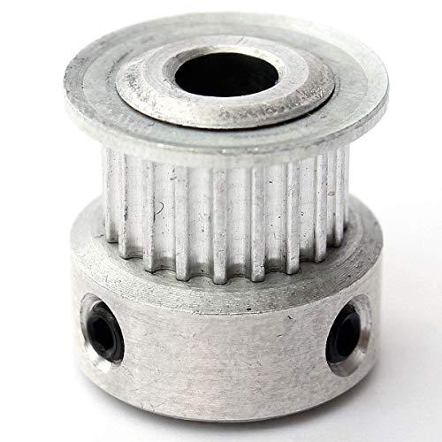BXU-BG 3D-Drucker-Zubehör, Aluminium-Timing-Antriebsscheibe 3PCS 20T GT2 for DIY 3D-Drucker Drucker