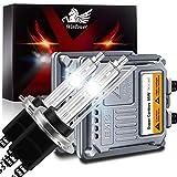 WinPower H7 Lampadina Xeno 55W Kit Conversione Fari con Decodificatore CANBus Zavorra HID 6000K Bianco Freddo Alta Luminosità Fascio Abbagliante/Anabbaglianti, 2 Pezzi