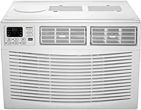 AMANA 18,000 BTU 230V Window-Mounted Air Conditioner with Remote Control, White