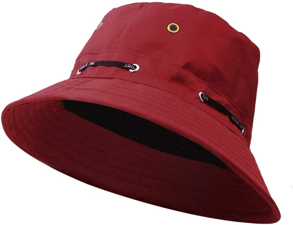 SPORTTIN Unisex Packable Bucket Hat Summer Outdoor Beach Sun Cap for Travel Fishing