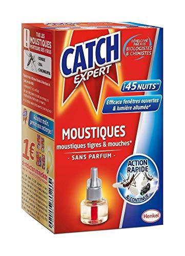 Catch Expert Moustiques – Recharge Diffuseur Electrique (45