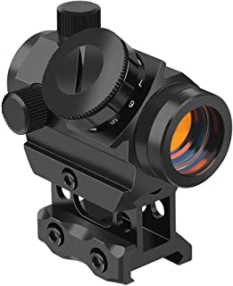 Feyachi RDS-25 Red Dot Sight 4 MOA Micro Red Dot Gun Sight Rifle Scope with 1 inch Riser Mount