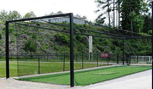 LFS Sport Netting #42 HDPE Batting Cage Net - 12' x 12' x 70'