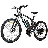 BIKFUN Vélo Électrique 250W E-Bike, 27,5 Pouces VTT 36V 10Ah Batterie au Lithium Shimano 21...