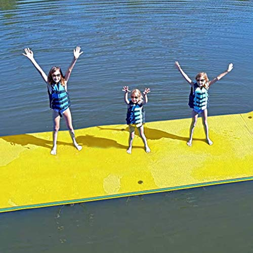 Superday Floating Water Mat Recreation Foam Pad Adults Kids Relax On Pool Lake&Ocean 12' x 6',...