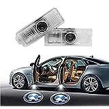 車用カーテシ LED カーテシランプ カーテシライトロゴ投影ゴーストシャ 専門カーテシライト適応2/3/4/5/6/7/X3/X5/X6/M/GT (01)
