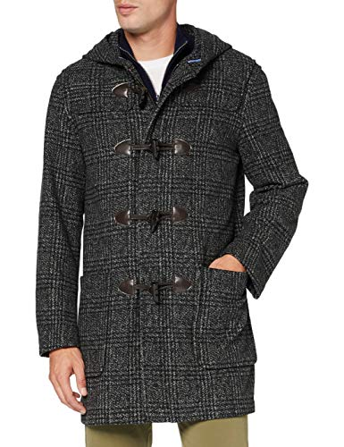 United Colors of Benetton 2CLQ53FI8 Cappotto, Grigio 901, M Uomo