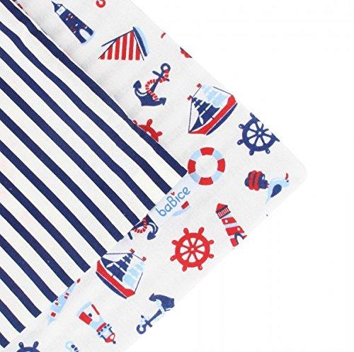 Kissenhülle Kissenbezug 50x50cm in verschiedenen Farben von baBice, baBice Kissen Muster:Maritim