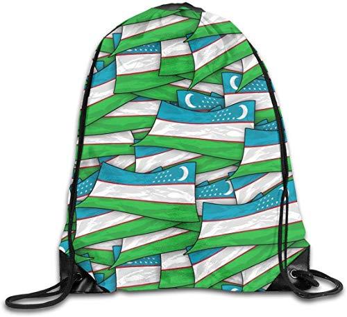 HRTSHRTE Ghana Flag Puzzle Drawstring Backpack Bag Rucksack Shoulder Sackpack Sport Gym Yoga Runner Beach Hiking Dance