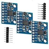 AZDelivery 3 x GY-521 MPU-6050 3-Achsen-Gyroskop und Beschleunigungssensor kompatibel mit Arduino inklusive E-Book!