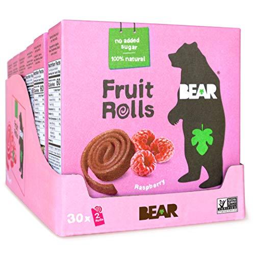 Bear Frutta Yoyos Lampone Multipla 5 X 20g (Confezione da 6)