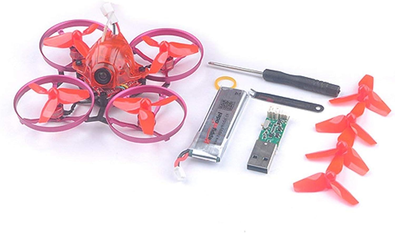 Bienddyicho Happymodellolo Snapper7 Brushless Whoopi Aircraft BNF Micro 75mm FPV Quadcopter 4in1 Crazybee F3 FC D2M2   DSMX Ricevitore RX 700TVL telecamera VTX -Mimetico
