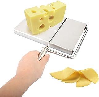OUNONA Cuchillos de corte de mantequilla de queso de acero inoxidable para hacer cocina de postre herramientas de cocina