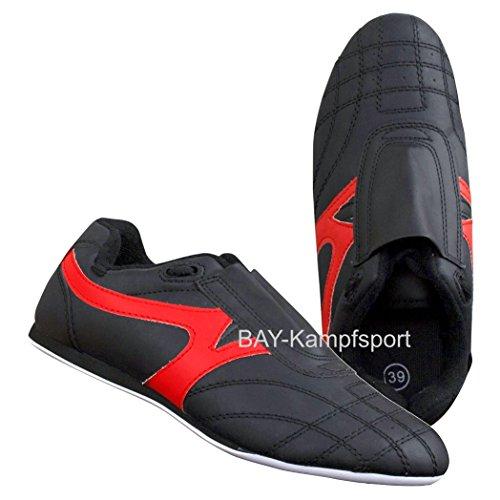 BAY® BUDO-MAX Schuhe Kampfsport schwarz (47)