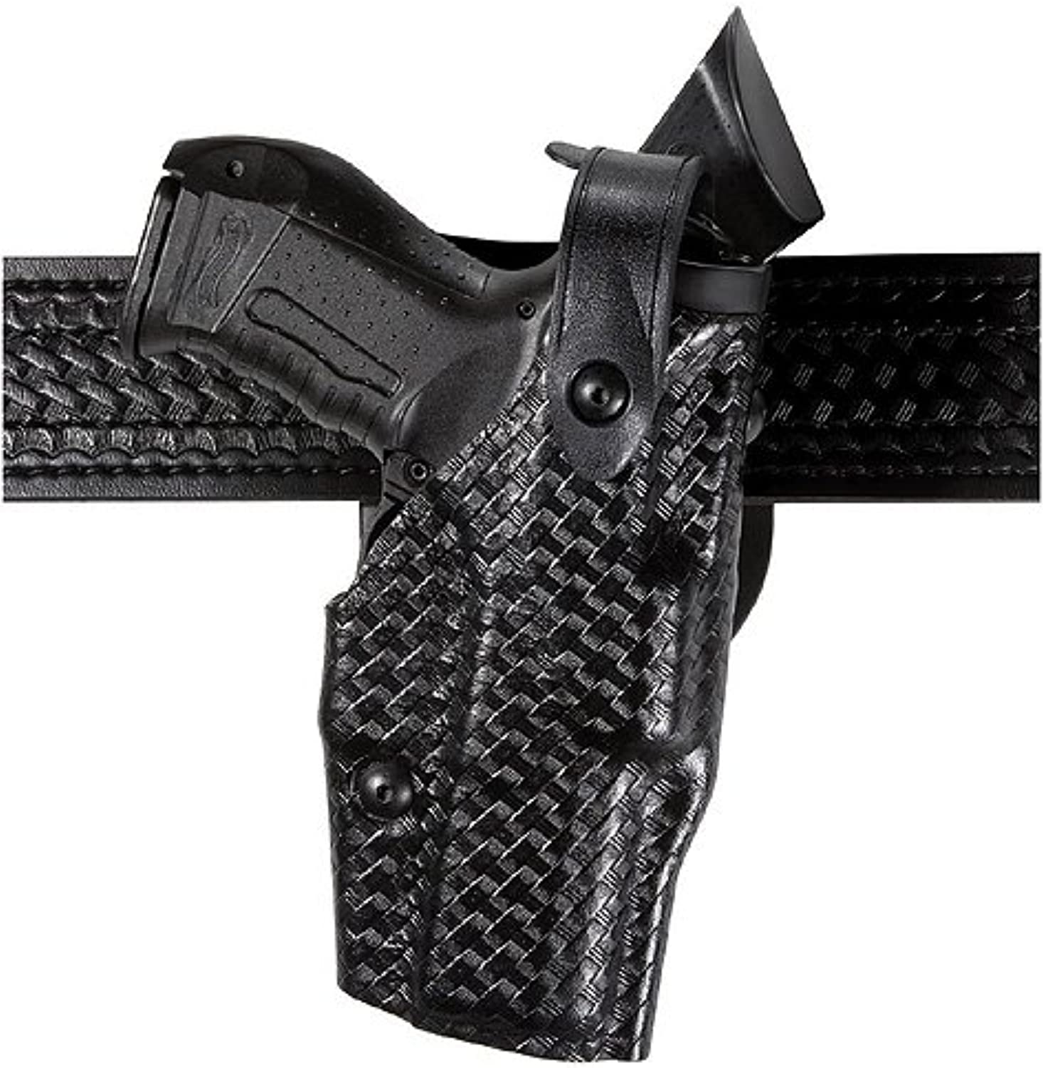 Safariland 6360 Als Level Iii W  Ride Ubl Holster  Plain Black, Right Hand 636014861