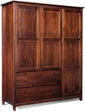 Best grain wood armoire Reviews