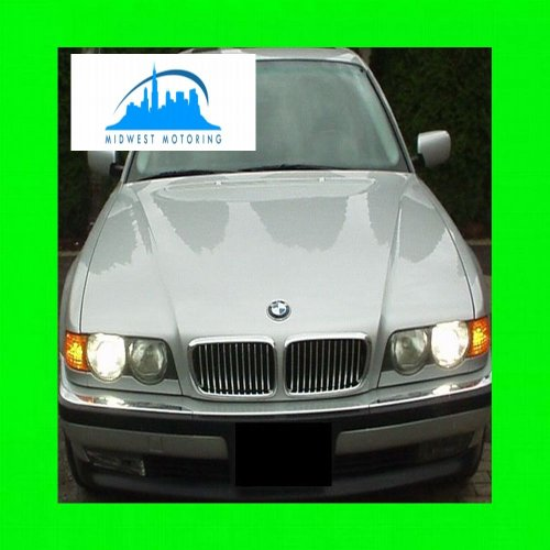 312 Motoring fits 1995-2001 BMW E38 7 Series Chrome Trim for Grill Grille 1996 1997 1998 1999 2000 95 96 97 98 99 00 01 740I 740IL 750IL 740 750 I IL