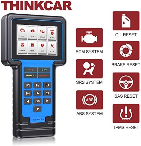 Thinkcar ThinkScan 601 OBD2 Scanner Lifetime Free ECM ABS SRS Scanner with Resets Car Code Reader product image