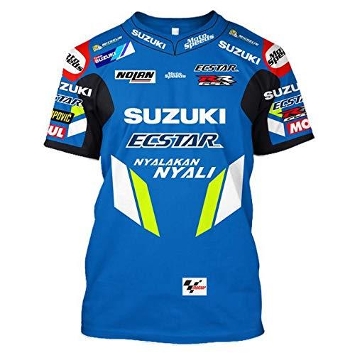 Herren Kompressionshemd Ritterbekleidung Motorrad Kurzarm T-Shirt kurz T Outdoor Offroad Reitanzug Speed Drop Anzug Rennanzug, XL
