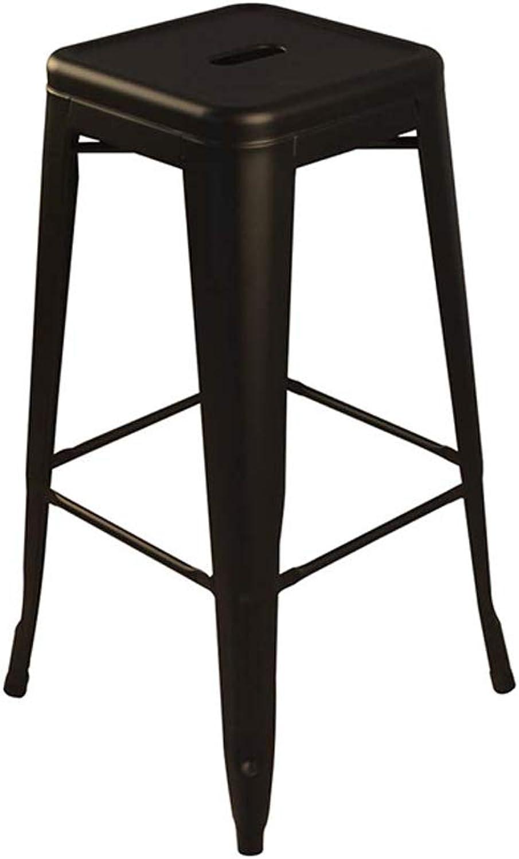 Jiu Si- Bar Chair Bar Stool Bar Stool High Stool Metal Stool Wrought Iron Restaurant Chair Front Desk Stool bar Chair
