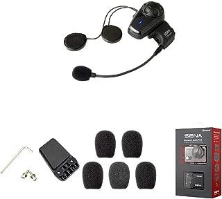 Kit de abrazadera de casco para SPH10-FM Bluetooth auriculares est/éreo e intercomunicador Sena SMH5-A0313