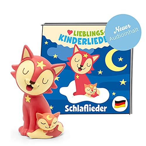 tonies Hörfiguren für Toniebox, Lieblings-Kinderlieder – Schlaflieder, Kinderlieder für Kinder ab 3 Jahren, Spielzeit ca. 50 Minuten