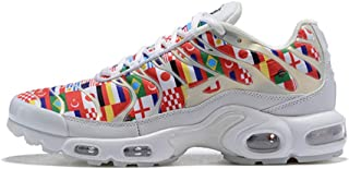 Air Gx Max Plus Tn Men's Sneakers Fitness Running Shoes Women's Sport Trainers Shoes (41 EU/8 US Men, World Cup White)