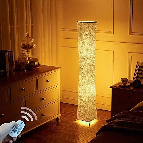 lvyuan Lampada da Terra Moderno LED RGB Dimmerabile Lampadina Inclusa per la Decorazione Soggiorno 20x20x132cm Spina europea