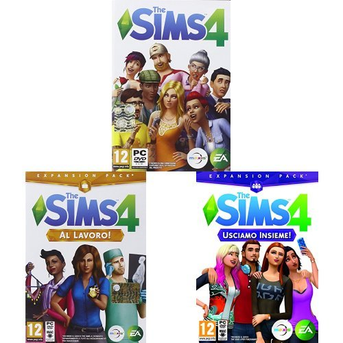 The Sims 4 + Espansioni Al Lavoro!/Usciamo insieme!