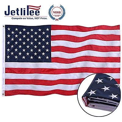 Jetlifee American Flag by US Veterans Owned Biz.