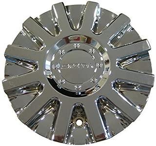 Strada Spina Chrome Wheels Rim Center Cap S16 11212285F-1