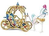 Mattel Disney Princess CDC44 - Cinderella Pferd und Kutsche -