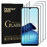 ivoler 3 Stücke Panzerglas Schutzfolie für Vivo Y11s / Vivo Y20s / Wiko View 4, 9H Festigkeit Panzerglasfolie, Anti-Kratzen Folie, Anti-Bläschen Bildschirmschutzfolie, Kritall-Klar Hartglas